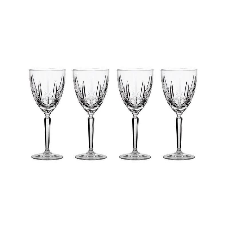Marquis By Waterford Sparkle Crystalline Wine Glasses