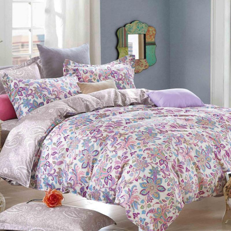 Boutique Collections A001 3pcs Bed Quilt Cover Set 100% Combed Cotton