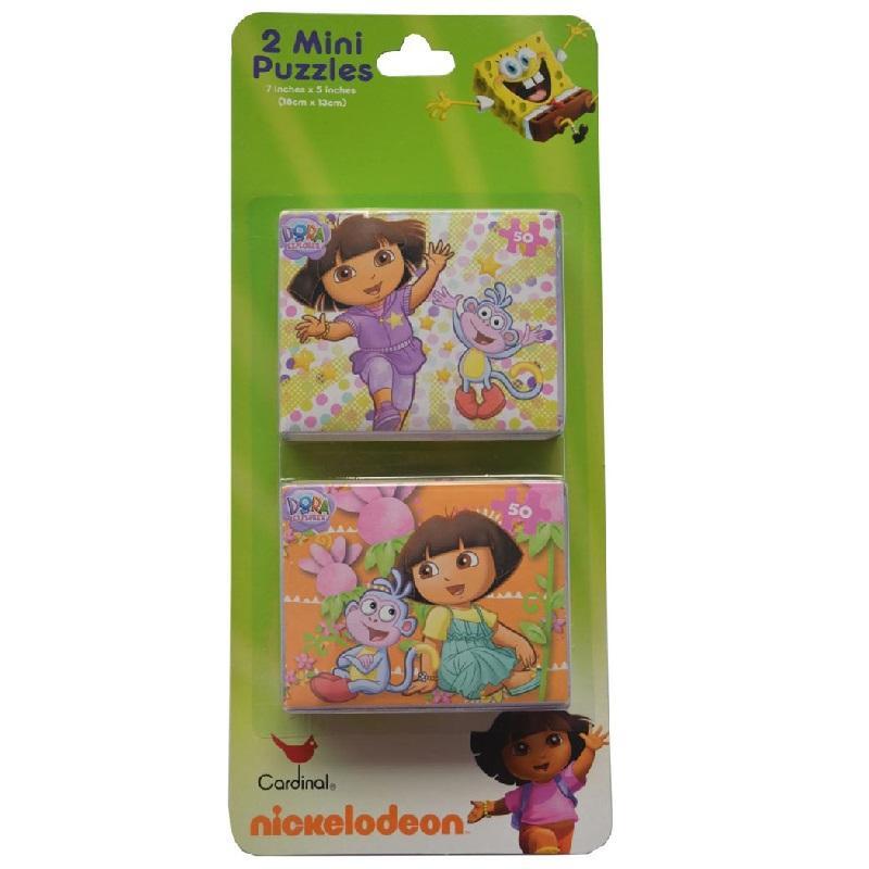 Dora the Explorer Mini Jigsaw Puzzles