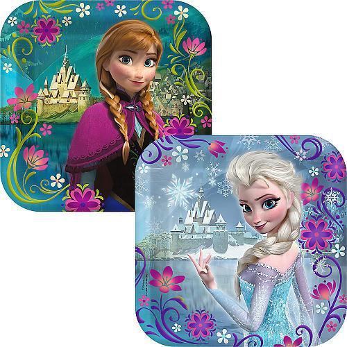 sc 1 st  Mega Boutique & Disney Frozen Small Paper Plates - 8 Pack