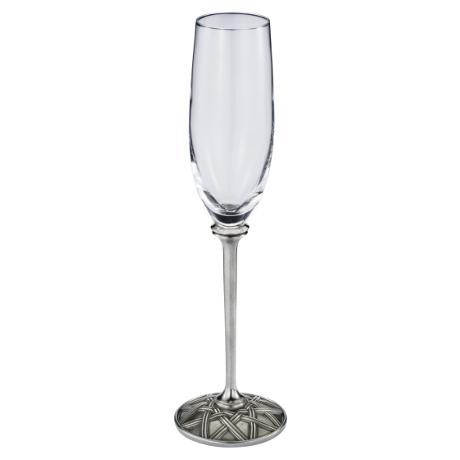 Royal Selangor Wicker Champagne Flute