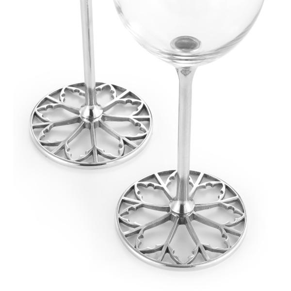 Royal Selangor Tracery Red Wine Glasses (Pair)