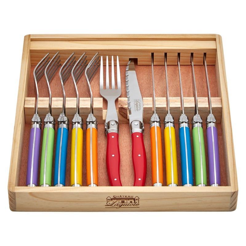 Chateau Laguiole 12pcs Cutlery Set Multi Colour