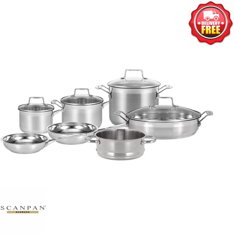 Scanpan Impact 5pcs Cookware Set Saucepan Casserole