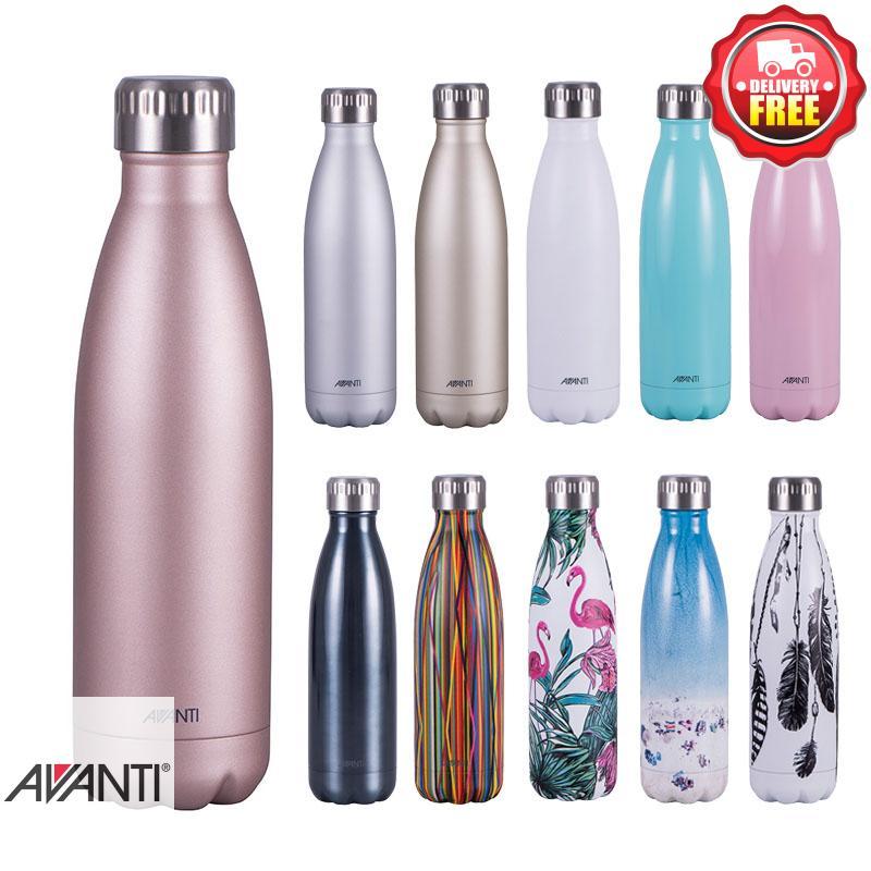 89c0a4fea2 Avanti Fluid Twin Wall Vacuum Water Bottle 500ml |Stainless Steel | Light  Weight