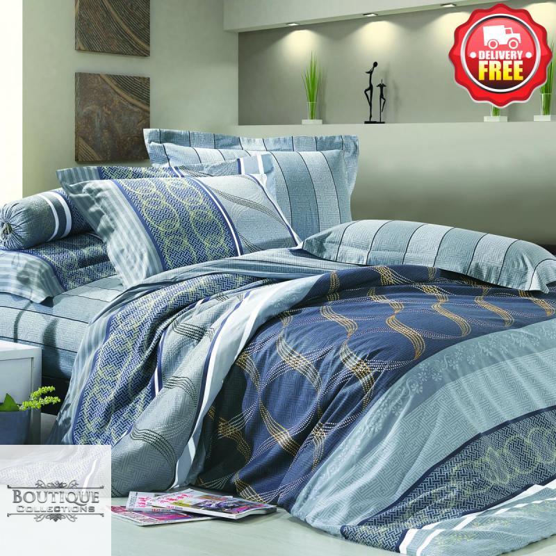 T533 100/% Cotton Queen//King//Super King Size Bed Duvet//Doona//Quilt Cover Set New